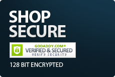 Shop Secure - 128 Bit Encrypted